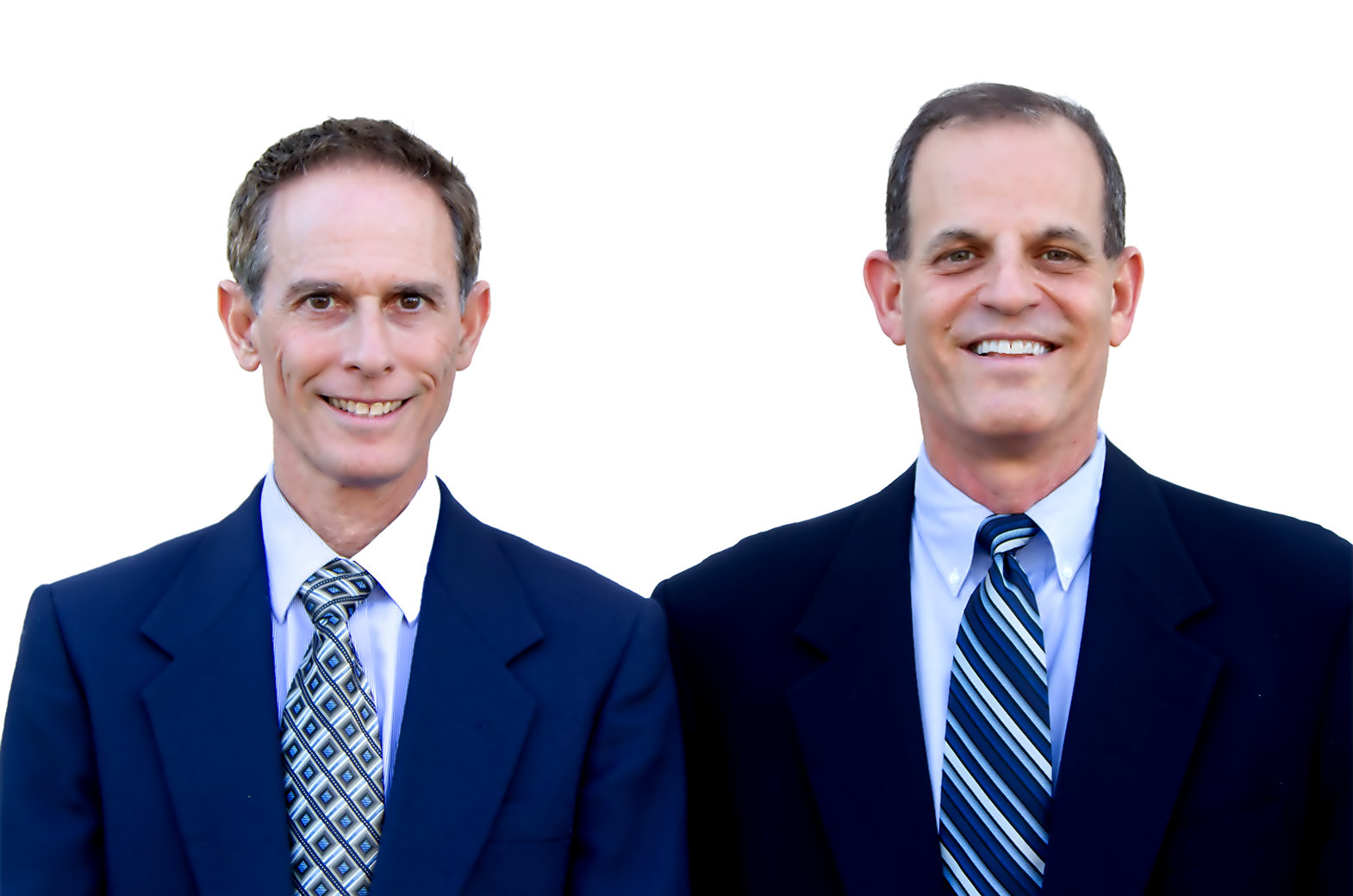 Dr. Bruce Fletcher and Dr. Elliott Hinkes