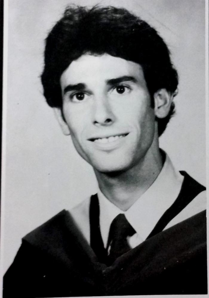 Dr. Fletcher graduation picture